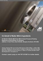 Online Sale on Behalf of Muller Milk & Ingredients fresh milk and cream process and packaging equipment